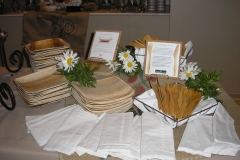 Breakfast Buffet with Eco-Friendly Serviceware